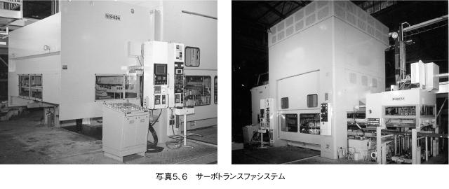 ニシダ精機のサーボトランスファシステム